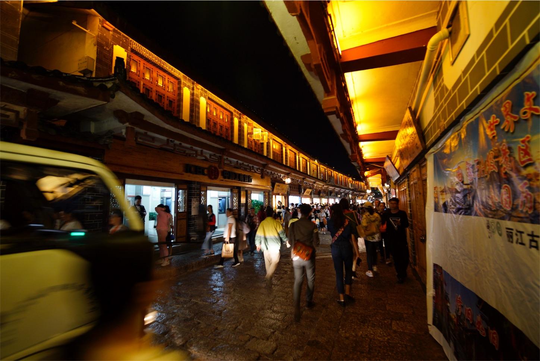 麗江古城夜