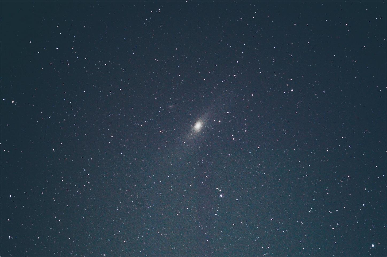 中一光学135mmF2.8で撮ったM31アンドロメダ