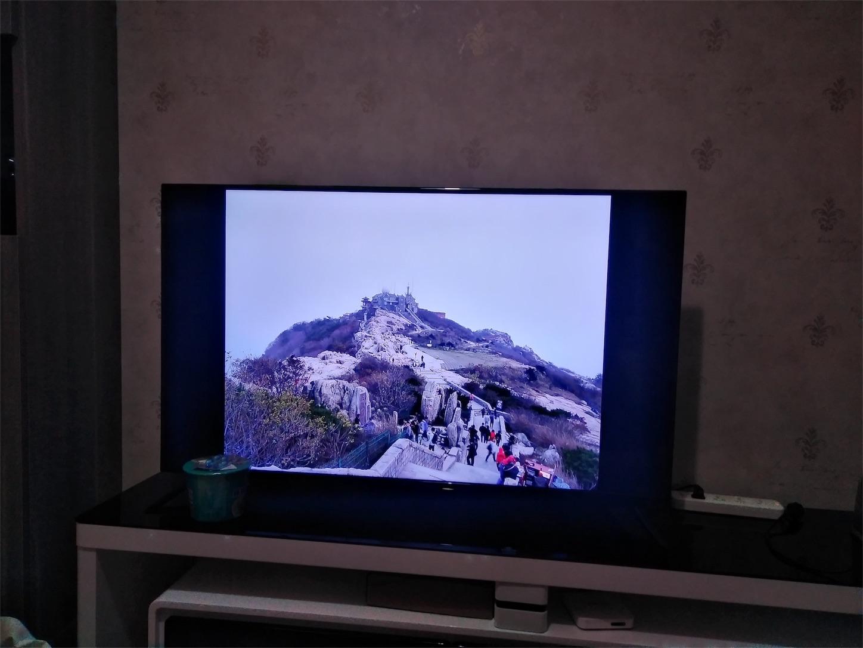 50インチで見る泰山