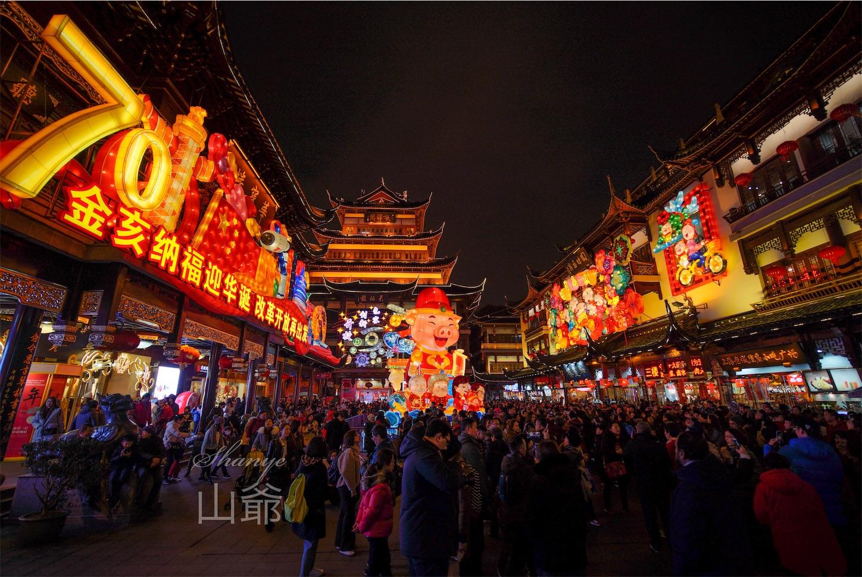 上海豫園ランタン2019亥年