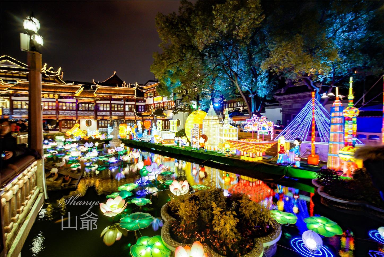 上海豫園ランタン2019