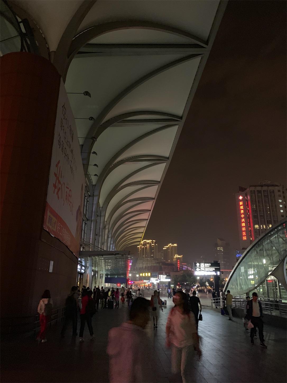 上海火車駅