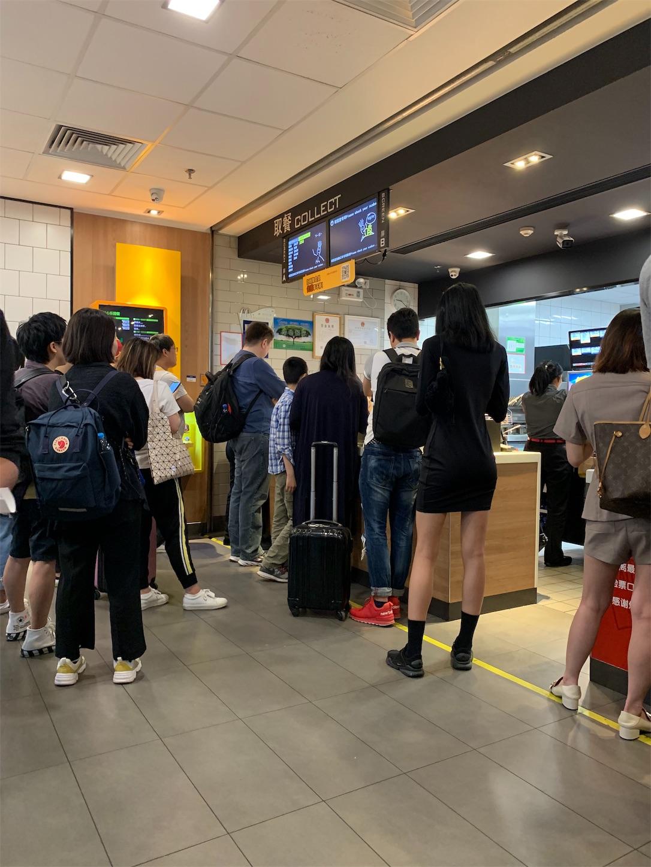 上海虹橋火車駅MAC