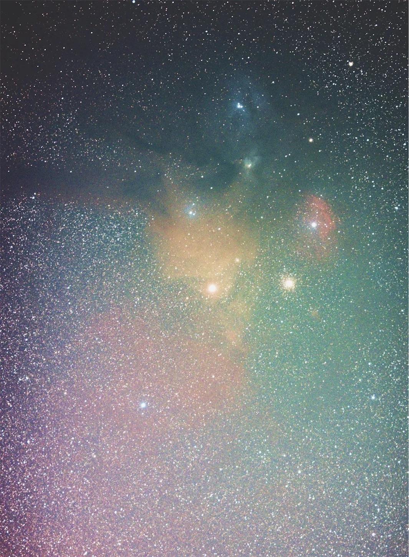 135mm,アンタレス付近,DeepSkyStracker,星空,蠍座