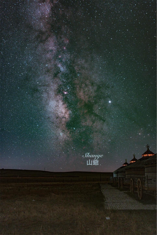 内モンゴルの天の川,Sigma35mmart,一枚取り,星空