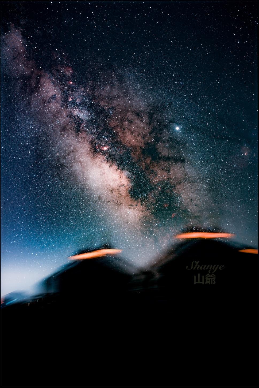 内モンゴルの天の川,Sigma35mmart,コンポジット,星空