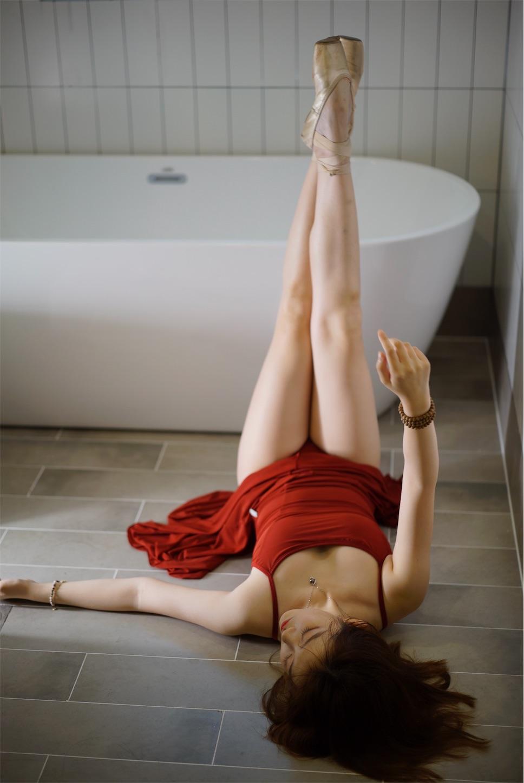 浴室バレエ