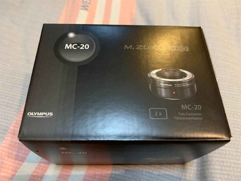 M.ZUIKO DIGITAL 2x Teleconverter MC-20