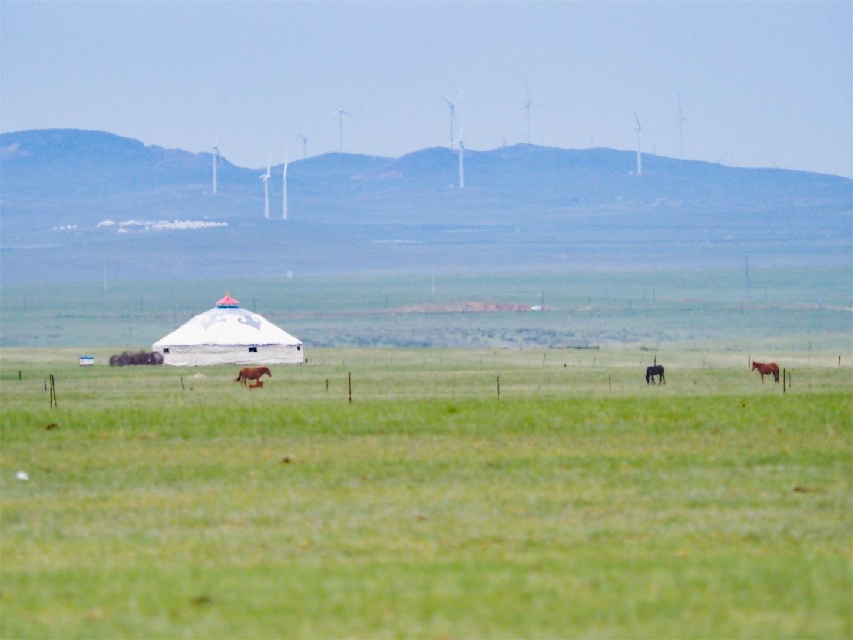 草原の風景,大草原