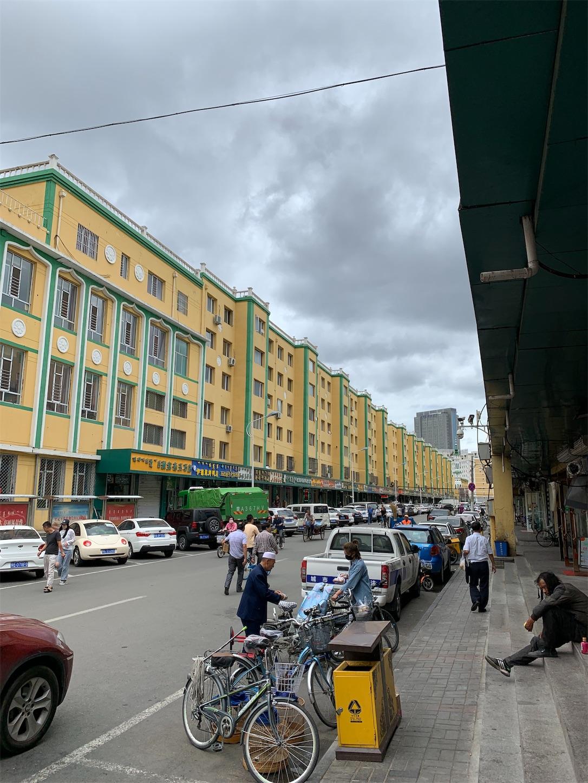 フフホトのイスラム繁華街