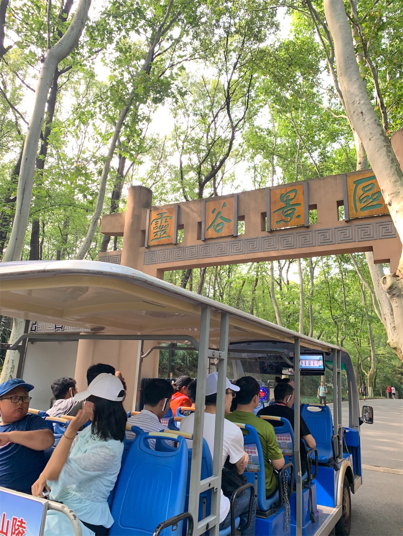 霊谷寺(灵谷寺)景区の入り口
