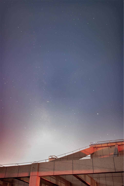 上海の星空