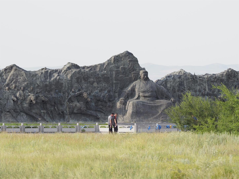 元上都の遺跡Site of Xanadu,フビライ