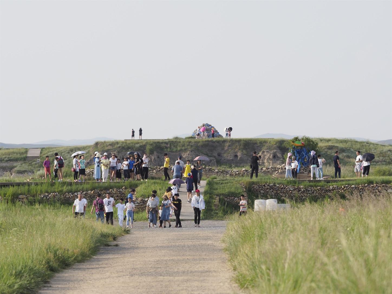 元上都の遺跡Site of Xanadu