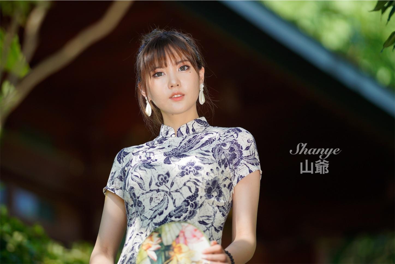 チャイナドレス,青花瓷