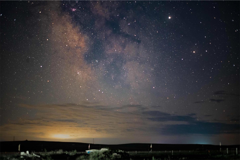 永诺YONNUOの50mmF1.8星空,天の川