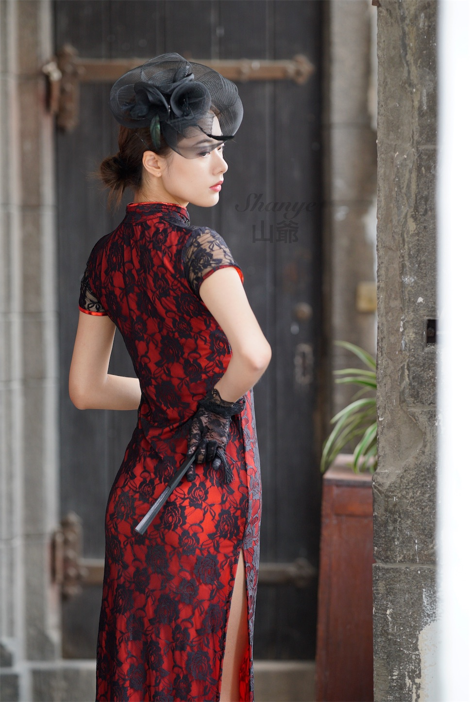 上海チャイナドレス撮影