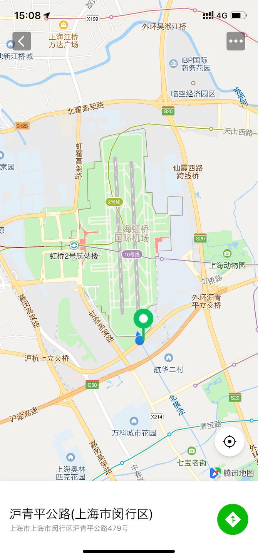 虹橋空港地図