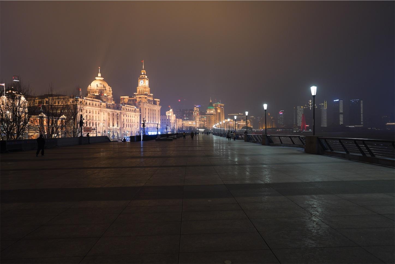 上海外灘2020-2-25-4,霧の都上海,魔都