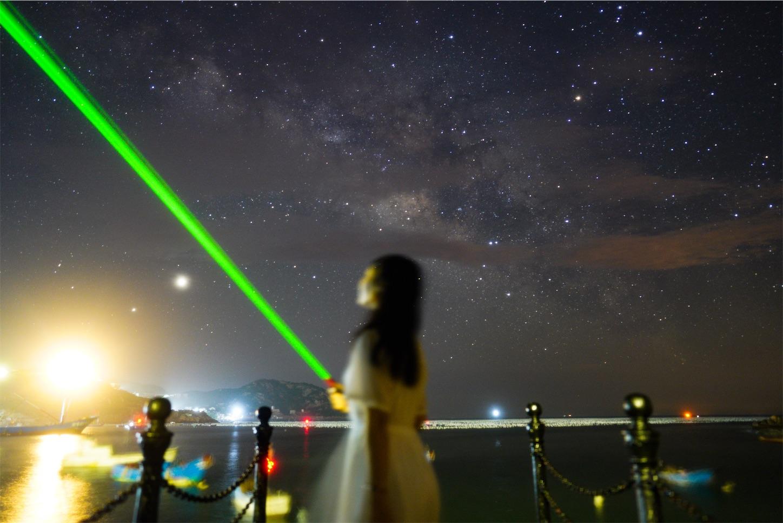 枸杞島(クコ島),天の川,星空ポートレート