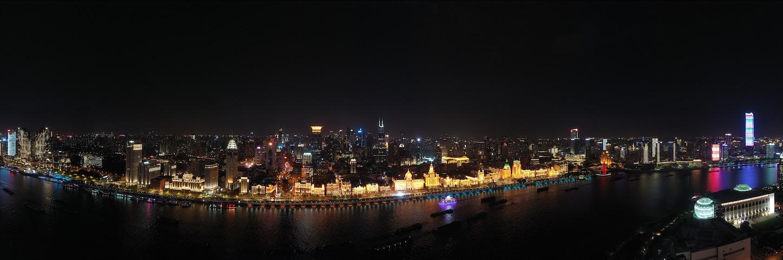 上海外灘全景パノラマ
