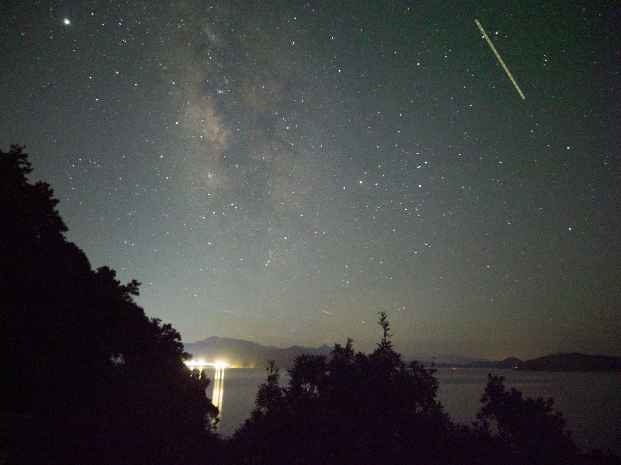 ファーウェイP40 Proで撮影した天の川