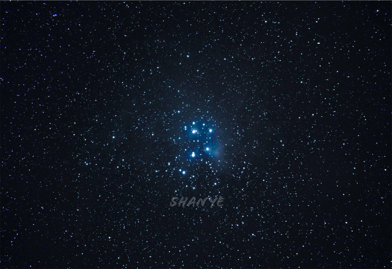 牡牛座散光星雲(M45)180mm