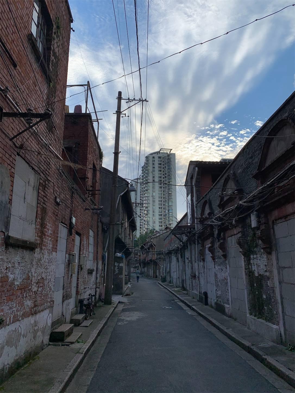 上海老西門付近