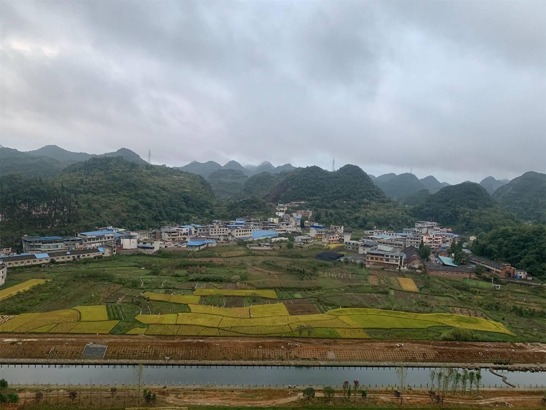 最後の秘境貴州省旅行5日間安順半山酒店ホテルからの景色