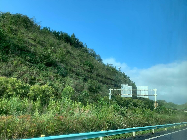 貴州省旅行5日間,安順から興義までのバスの車窓から7