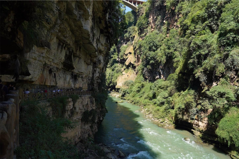 馬嶺河峡谷の峡谷