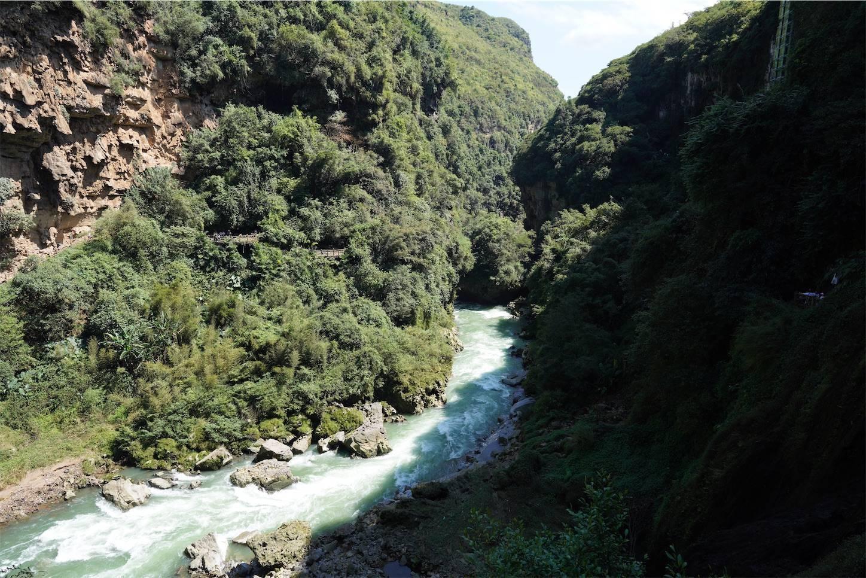 馬嶺河峡谷の河
