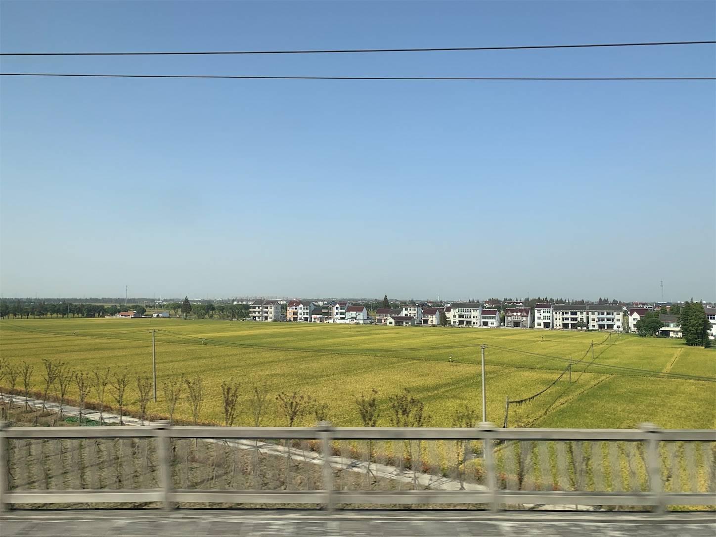 高速鉄道の車窓から1,上海から浙江省杭州建徳へ