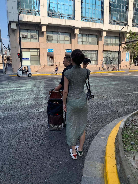 チャイナドレス,上海老西門