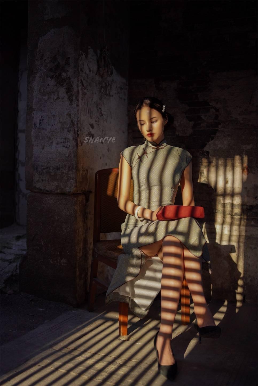 チャイナドレス,上海老西門,上海美女,街撮