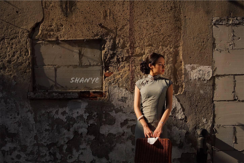 チャイナドレス,上海老西門,街撮