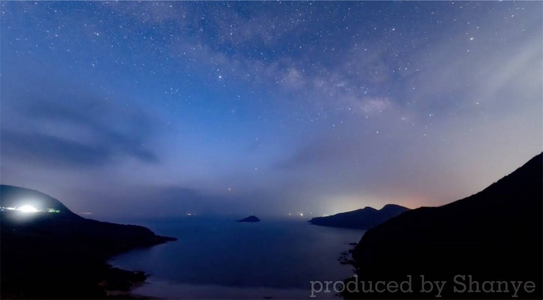 夜明け前の天の川,Ttartisan11mmFish eye
