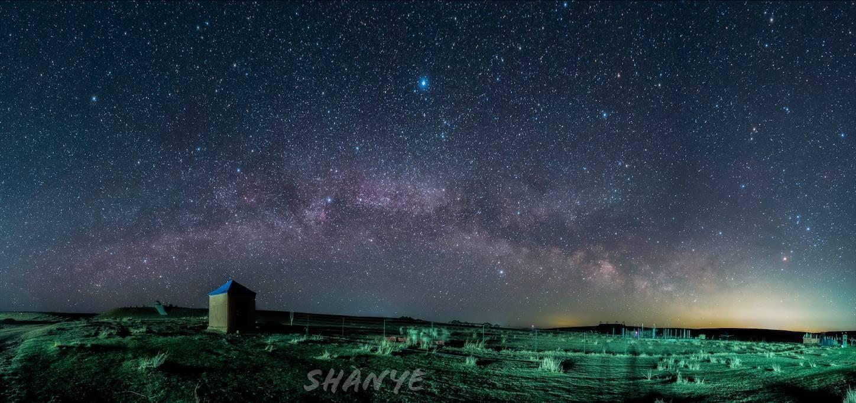 内モンゴル草原の天の川,20mmG