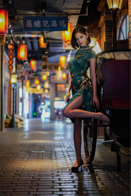 上海,チャイナドレス,旗袍,魅力