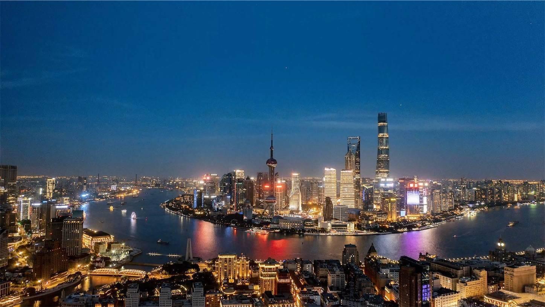 2021上海夜景,DJI Mavic2pro