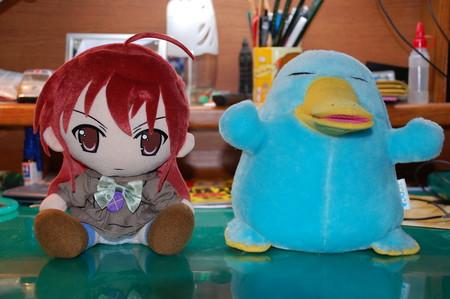 シャナちゃん&カモノハシのイコちゃん