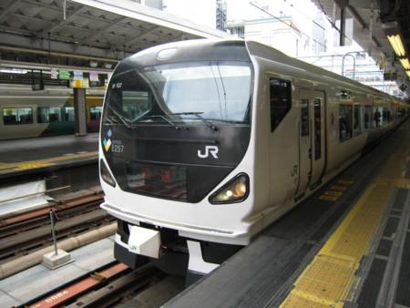 E257系「あずさ」「かいじ」(M-102)@新宿