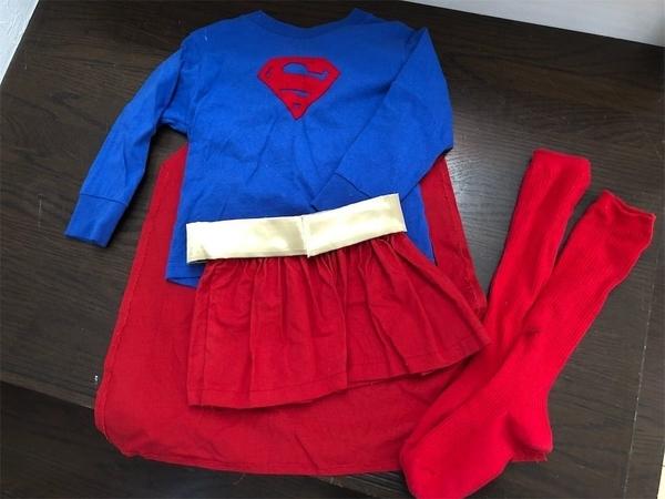 ハロウィンの子供コスプレ衣装&飾り付け
