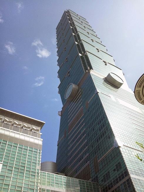 台北101の外観