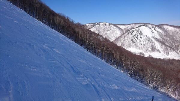 だいくらスキー場傾斜38度