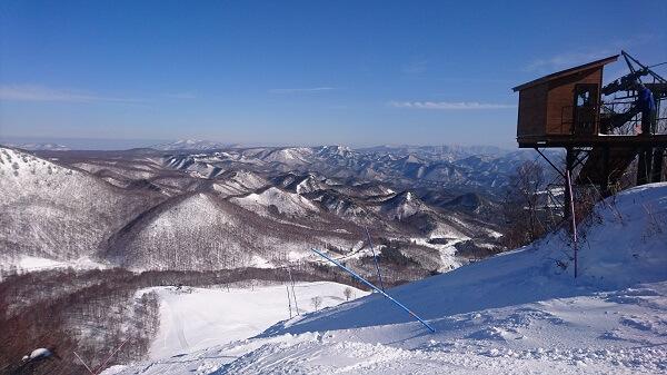 だいくらスキー場での景色