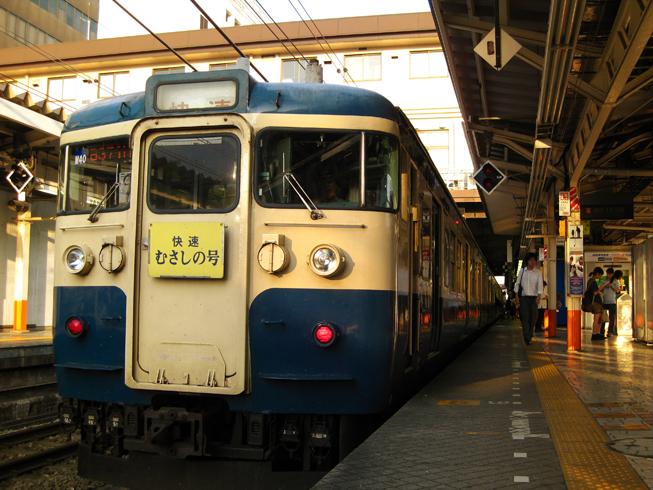 武蔵野線スカ色115系