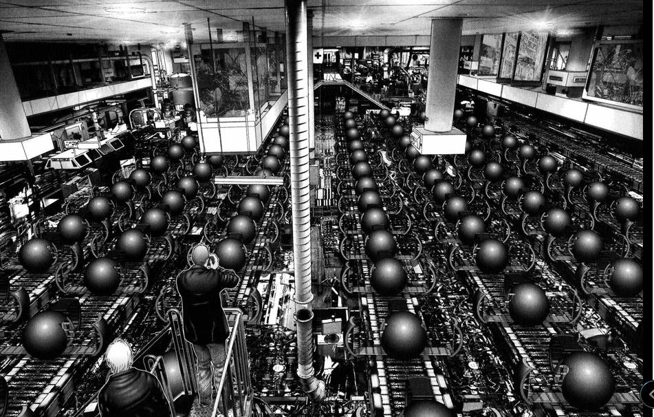 Gantz 黒玉製造工場