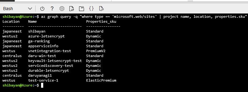 Kusto Datatable