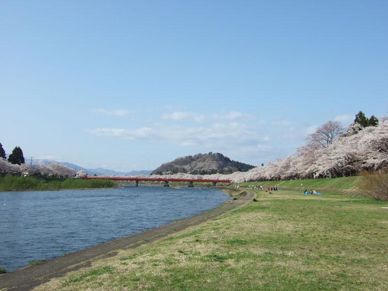 桧木内川河川敷